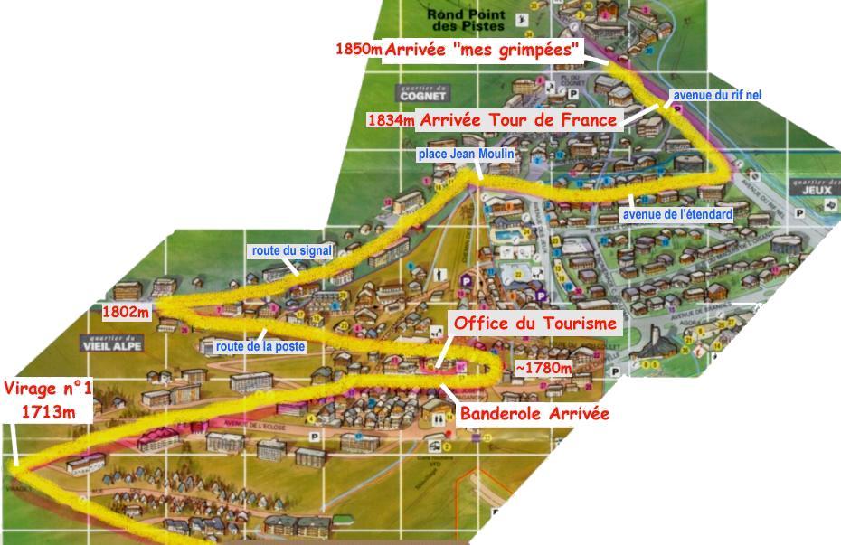 La route de l 39 alpe d 39 huez - L alpe d huez office tourisme ...