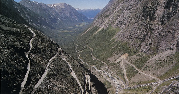 Routes en lacets d 39 europe - Office de tourisme norvege ...